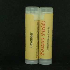 Vegan Lip Balm Lavender Essential Oil