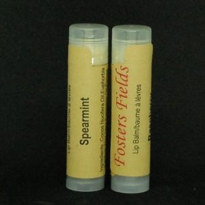 Vegan Lip Balm Spearmint Essential Oil